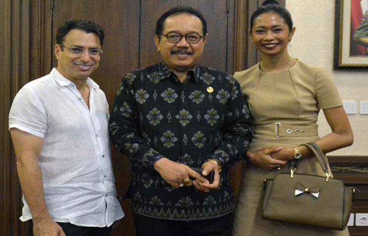 Apresiasi IFC, Wagub Cok Ace Ingin Bali jadi The Island of Flower