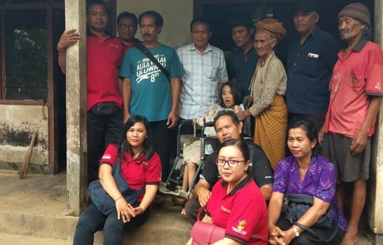 Dinas Sosial Provinsi Bali Bantu 3 Penyandang Disabilitas di Gianyar