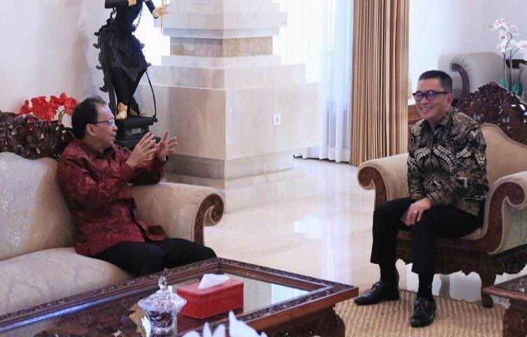 Dukung Diseminasi Informasi, Koster Harapkan Jadi Solusi 'Blank Spot'