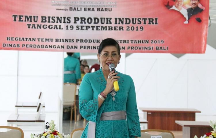 Perkuat Produk Lokal, Putri Koster Gencarkan Temu Bisnis Produsen-Konsumen
