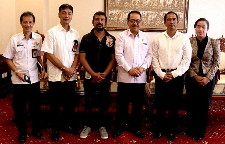 Tekankan Keamanan Bali, Wagub Cok Ace Apresiasi Produksi Film Layar Lebar Trans Crime