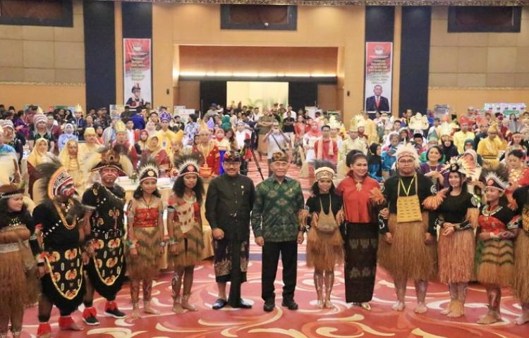 Wagub Bali Cok Ace Ajak Generasi Industri 4.0 Pahami Nilai-Nilai Kebangsaan.
