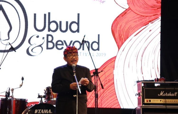 Wagub Cok Ace Harap Ubud & Beyond Festival Bisa Tingkatkan Enterpreneur Muda