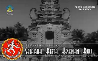 Sejarah Pesta Kesenian Bali
